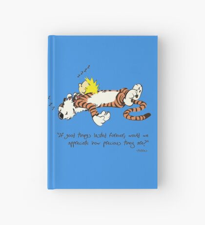 Calvin And Hobbes Quote Hardcover Journal
