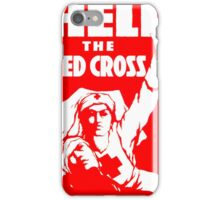 Help the Red Cross iPhone Case/Skin