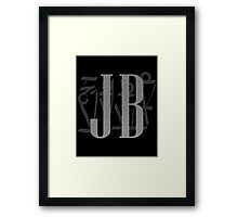 J B Birthday Framed Print