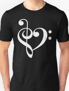Music notes Unisex T-Shirt