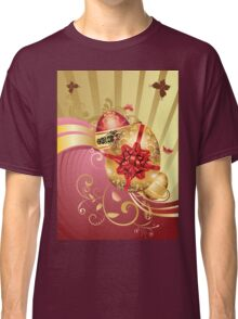 Decorative Easter Background 2 Classic T-Shirt