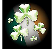 Eerie irish shamrock Photographic Print
