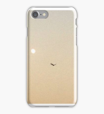 An Early Evening Moon iPhone Case/Skin