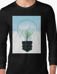 Tree in a Lightbulb 2 Long Sleeve T-Shirt