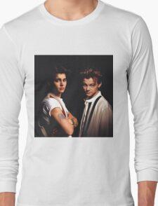 Leonardo DiCaprio and Johnny Depp Long Sleeve T-Shirt