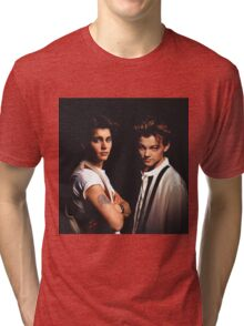 Leonardo DiCaprio and Johnny Depp Tri-blend T-Shirt