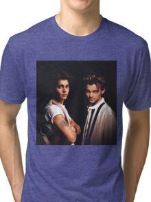 Leonardo DiCaprio and Johnny Depp Tri-blend T-Shirt