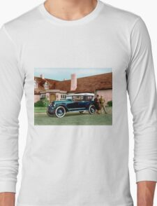 Colorized 1919 Paige Touring Car Long Sleeve T-Shirt