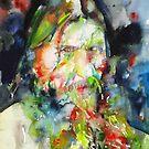 RASPUTIN - watercolor portrait.4 by lautir