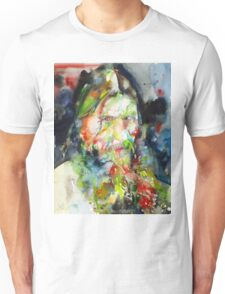 RASPUTIN - watercolor portrait.4 Unisex T-Shirt