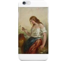 Henry Courtney Selous - The Love Letter iPhone Case/Skin