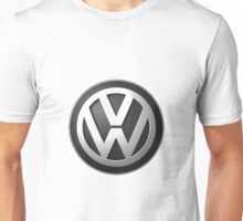 Vw logo black Unisex T-Shirt