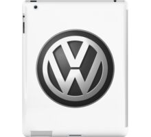 Vw logo black iPad Case/Skin