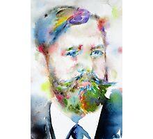 SIGMUND FREUD - watercolor portrait.10 Photographic Print