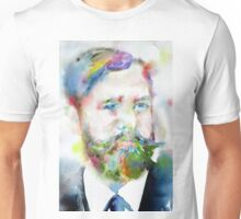 SIGMUND FREUD - watercolor portrait.10 Unisex T-Shirt