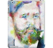 SIGMUND FREUD - watercolor portrait.10 iPad Case/Skin
