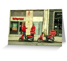 Telepizza  Greeting Card
