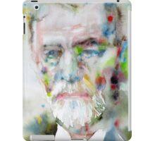 SIGMUND FREUD - watercolor portrait.11 iPad Case/Skin