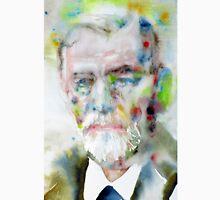 SIGMUND FREUD - watercolor portrait.11 Unisex T-Shirt