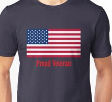 US Military American Flag Veteran Shirt Unisex T-Shirt