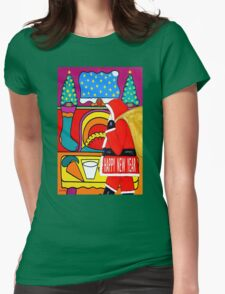 HAPPY NEW YEAR 11 Womens Fitted T-Shirt