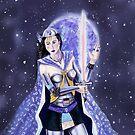 Warrior Class Woman - Mercury by didielicious