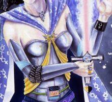 Warrior Class Woman - Mercury Sticker