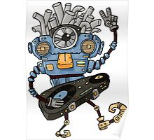 Funny Robot Poster