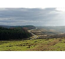 From Roman road to Moody Moor Photographic Print