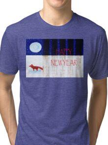 HAPPY NEW YEAR 9 Tri-blend T-Shirt