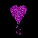 Confetti Hearts (iPhone/iPod) by ScaleDesigns