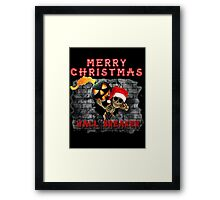 Wall Breaker Break The Rules COC Christmas Framed Print