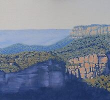 Hilda's View - Oil painting on canvas by Alison Murphy