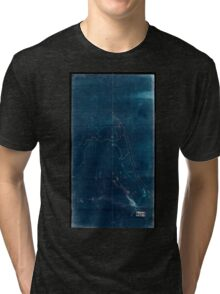 002  An unfinished drawing of the battle of Fredericksburg Saturday December 13 1862 Inverted Tri-blend T-Shirt