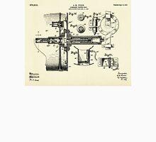 Submarine Torpedo Boat 07-1910 Unisex T-Shirt