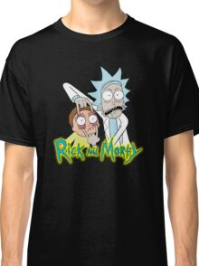 rick morty, rick, rick sanchez, cartoon, fun, youtube, science. Classic T-Shirt