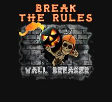 Wall Breaker Break The Rules COC Jack O Lantern Unisex T-Shirt