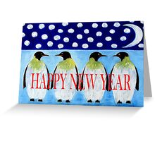 HAPPY NEW YEAR 5 Greeting Card