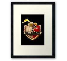 Wall Breaker Demolition Co Framed Print