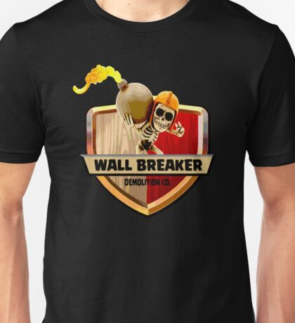 Wall Breaker Demolition Co Unisex T-Shirt