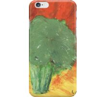 Stressed Broccoli iPhone Case/Skin