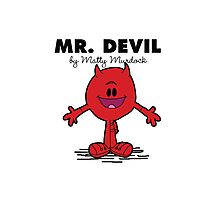 Mr Devil Photographic Print