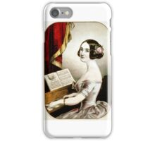 Emily - 1846 - Currier & Ives iPhone Case/Skin