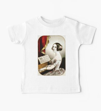 Emily - 1846 - Currier & Ives Baby Tee