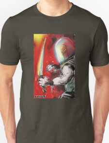 worm head warrior with long knife T-Shirt