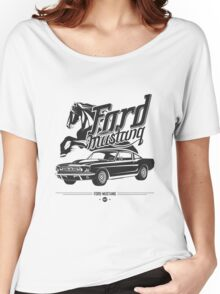 Ford Mustang 1967 Women's Relaxed Fit T-Shirt