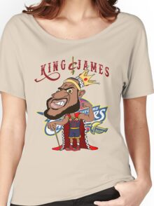 KING JAMES Women's Relaxed Fit T-Shirt