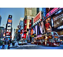 Times Square New York Photographic Print