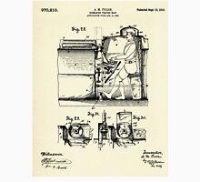 Submarine Torpedo Boat 10-1910 Unisex T-Shirt