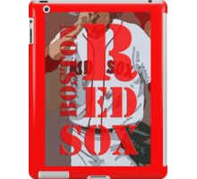 Boston Red Sox original typography, baseball team iPad Case/Skin